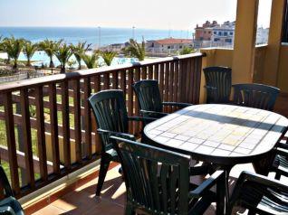 Apartamento en primera línea de playa del Moro