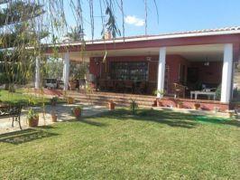Terraza de un chalet en venta en Alcossebre