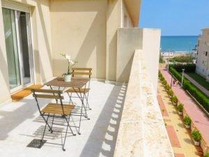 Apartamento en primera línea Playa Cargador
